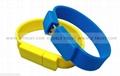 Newest Silicone Bracelet U Disk USB Flash Drive 5