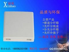 SC雙口光纖桌面盒