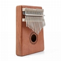 INITER 17 Key Kalimba Mbira Sanza Thumb Piano Solid Finger Piano and Tune Hammer