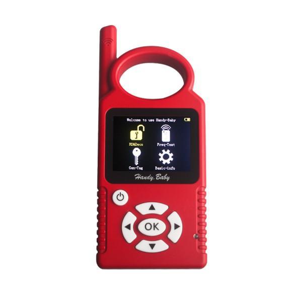 V9.0.0 Handy Baby Hand-held Car Key Copy Auto Key Programmer for 4D/46/48 Chips  5