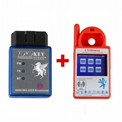 Mini CN900 Transponder Key Programmer Plus TOYO Key OBD II Key Pro for 4C 46 4D