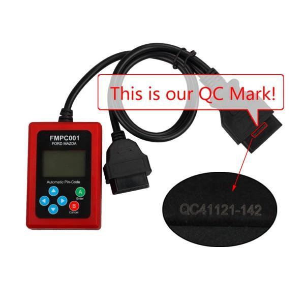 V1.7 FMPC001 Incode Calculator For Ford/Mazda No Token Limitation 5