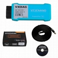 VXDIAG VCX NANO for TOYOTA TISTechstream V12.00.127Compatible withSAE J2534 WIFI