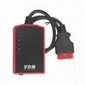 V3.9 VDM UCANDAS Wireless Automotive Diagnosis System with Honda Adapter Support