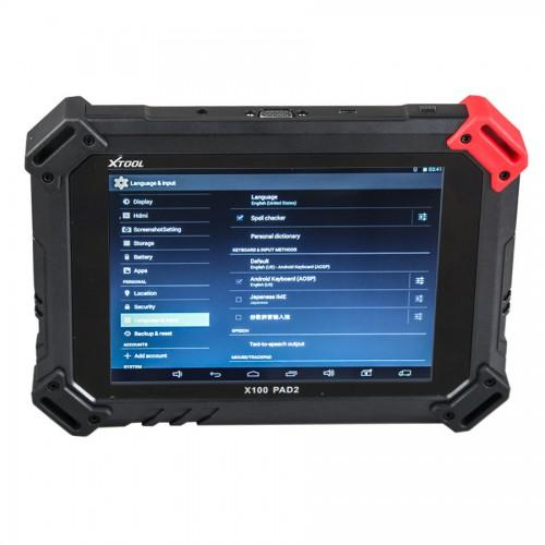 XTOOL X-100 PAD Tablet Key Programmer withEEPROM AdapterSupport Special Function