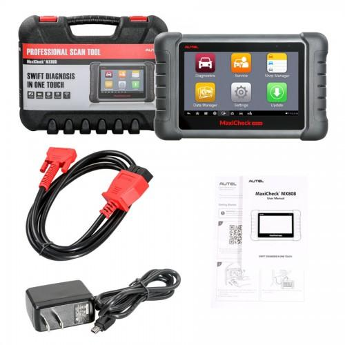 AUTEL MaxiCheck MX808 Android Tablet Diagnostic Tool Code Reader Update Online  1