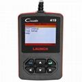 Launch CReader 419 DIY Scanner OBDII/EOBD Auto Diagnostic Scan Tool Code Reader 3