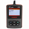 Launch CReader 419 DIY Scanner OBDII/EOBD Auto Diagnostic Scan Tool Code Reader