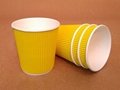 Customized ripple paper cups