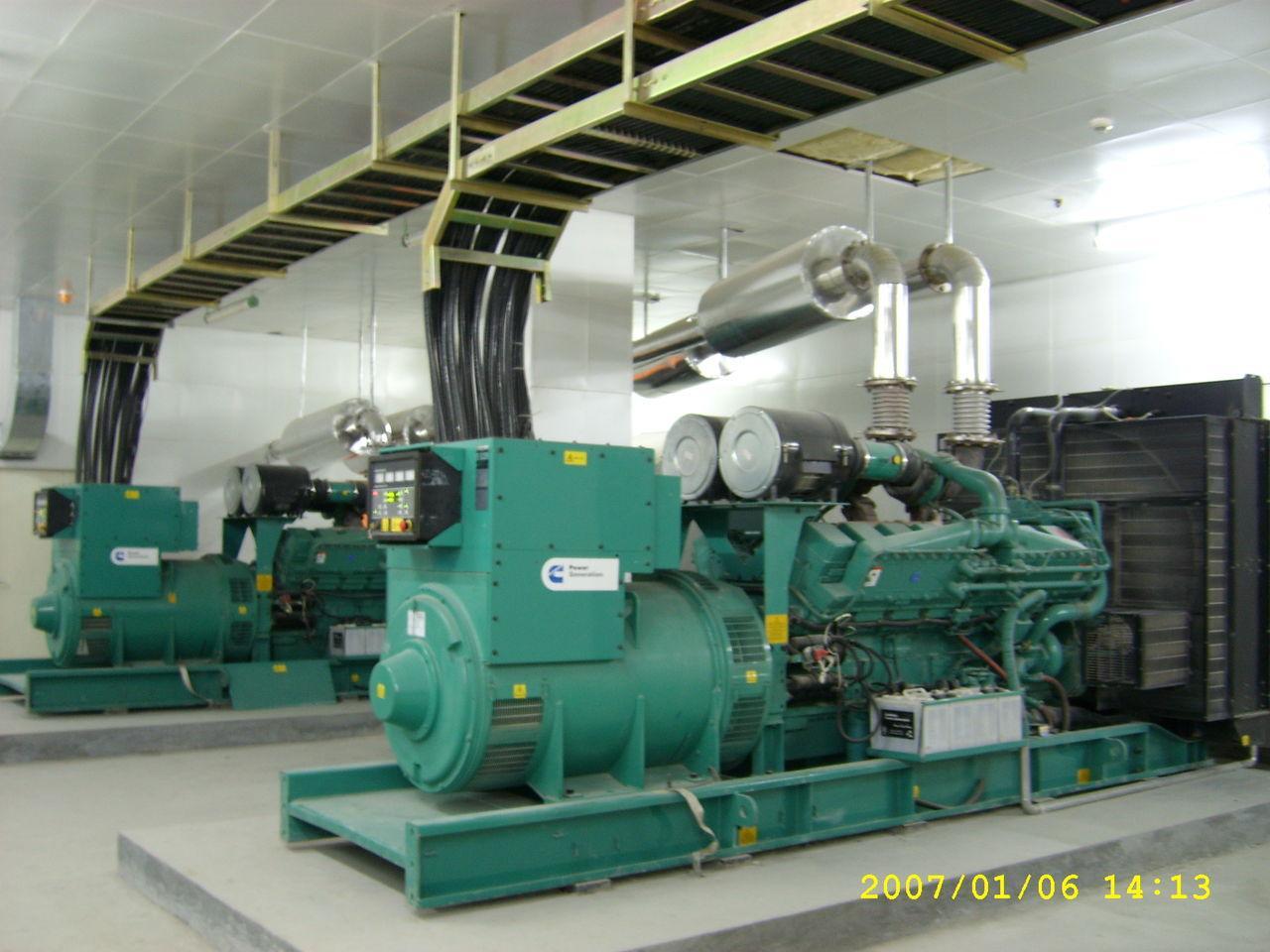 1500KW康明斯柴油发电机组 1