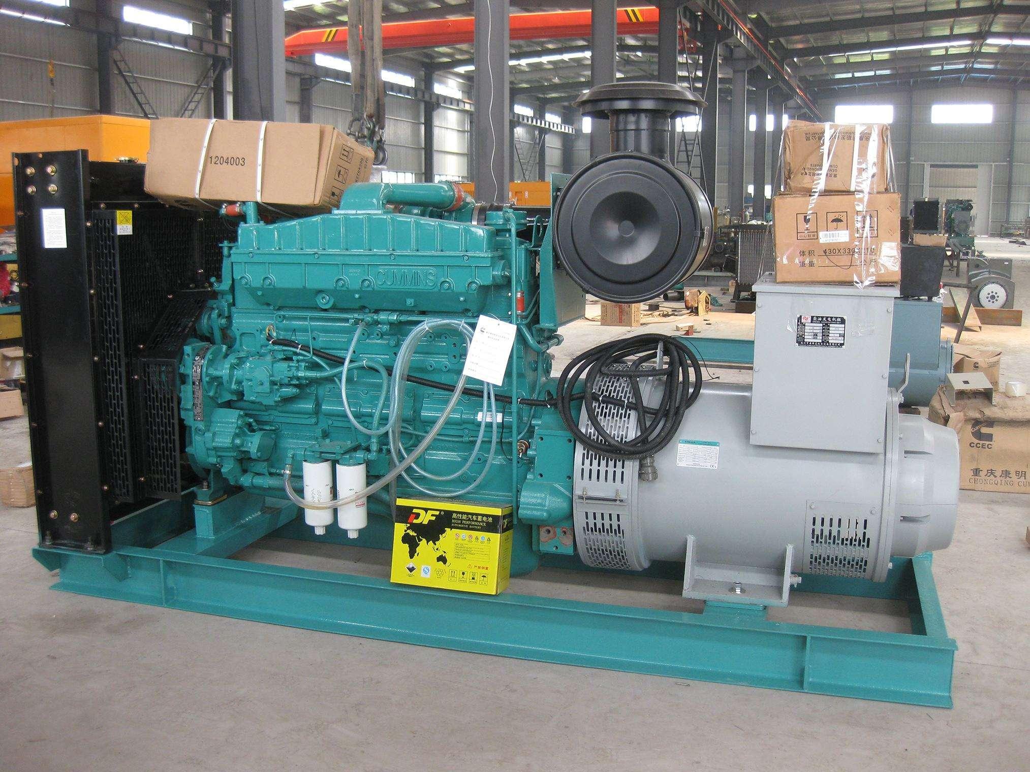 550KW康明斯柴油发电机组 1