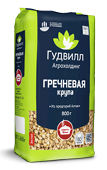 Buckwheat groats premium quality packed into soft pack 800g