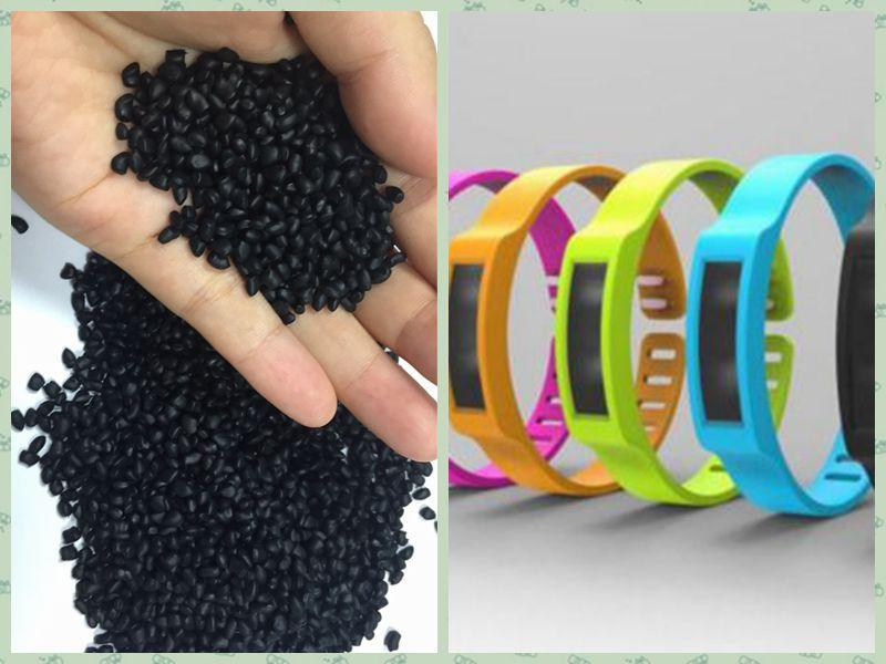Natural TPV 60A raw material for injection molding from Fukuang Plastic 4
