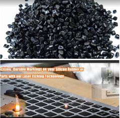 High-performance modified PC resin for laser jet printing
