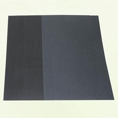 東莞造紙廠家直銷正大度單面雙面透心黑卡紙