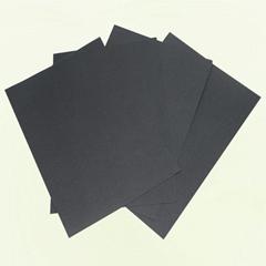 厂家供应相册内页黑卡纸特规可定制