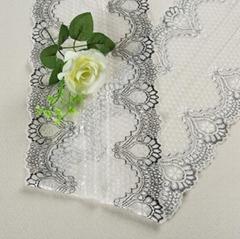 Good Quality Customized Width 18cm Elastic Lace Trim For Lady's Underwear