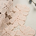 Lace Flora Embroidery Water Solute