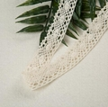 Crocheted 100% Cotton Off White lace