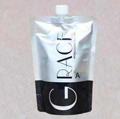 供应头发软化剂吸嘴铝箔袋毛发蛋白还原酸铝箔袋