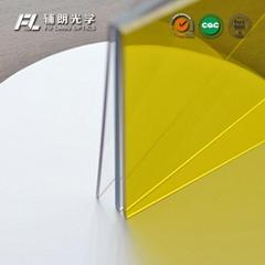 Anti fog polycarbonate pc sheet for aluminium profile partitions