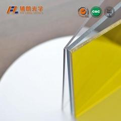wear resistant polycarbonate sheet for aluminum extrusion
