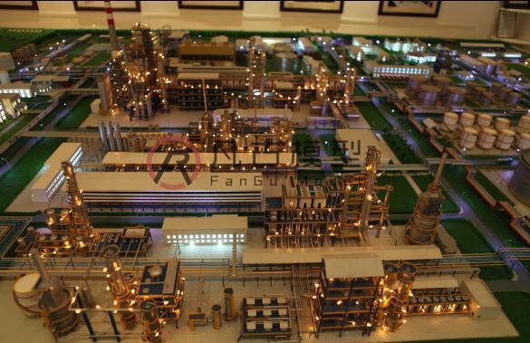 工业沙盘模型 2