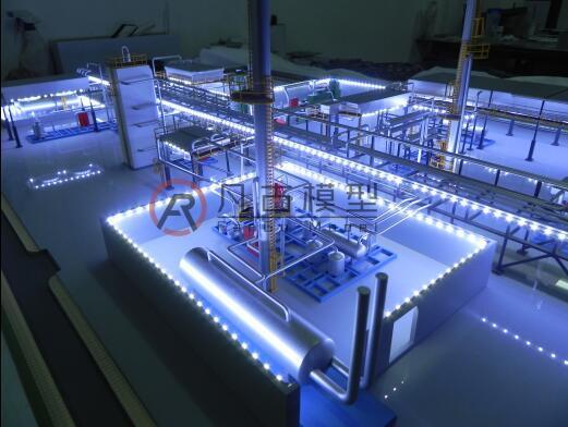 工业沙盘模型 4