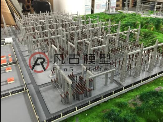 電力沙盤模型圖片 3