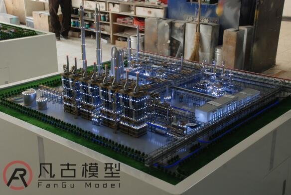 清潔能源電力沙盤模型 1