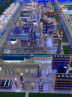 清潔能源電力沙盤模型 4