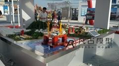 金屬工業沙盤模型