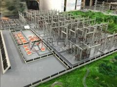 金屬電力設備模型