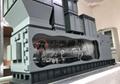 全金屬燃氣輪機設備模型