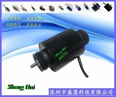 直流24V缝纫机电磁铁SH-T7074纺织机配件