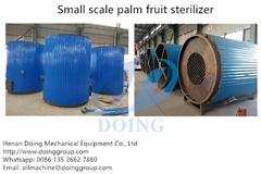 small palm oil mill plan