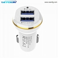 CESMFG Wholesale LED 3.1A Dual USB Cell Mobile Phone Car Charger