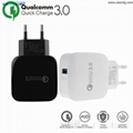 CESMFG Wholesale QC 3.0 Quick Travel Cell Mobile Phone USB Wall Charger