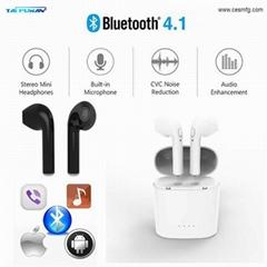CESMFG Wholesale Apple IPhone Wireless Bluetooth Headphone Earpod Headset