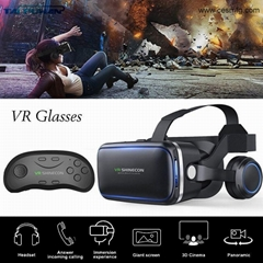 CESMFG Wholesale Best 3D VR Virtual Reality Headset for IPhone OR Smartphones