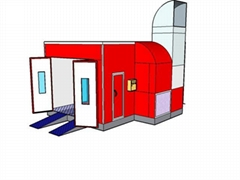 Automobile Spray Booth for sale