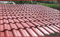 屋顶水泥瓦漆 1