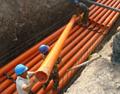 湖南PVC-C高壓電力管電纜管穿線管50 2