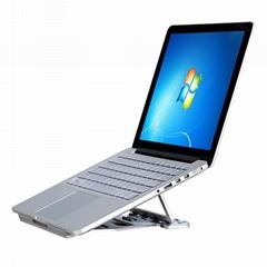 壁虎忍者W001铝合金多功能笔记本电脑支架