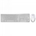 壁虎忍者RF460超薄静音无线键盘鼠标套装 2