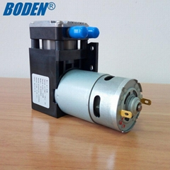 large pressure 6.5 bar .high flow 60 L/min mini VACUUM pump for auto tire