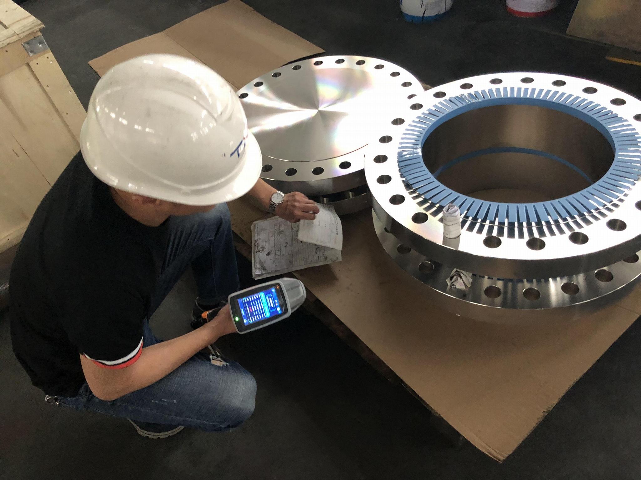 HP-VELA001 LIBS Analysis in Aluminium Alloy Factory