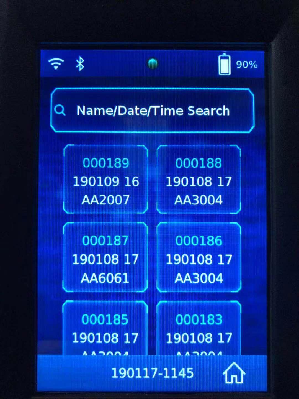 HP-VELA001 interface in English