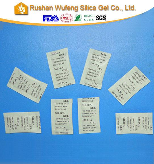 silica gel uses for shoes packing desiccant bag (China