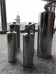 不鏽鋼滅火器 水基滅火器瓶體 1L